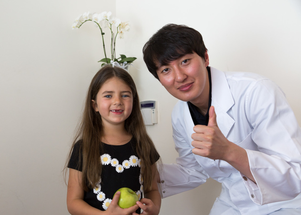 paediatric dentist