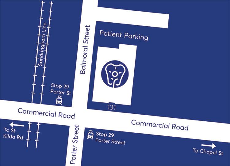 patient parking laser and holistic dental